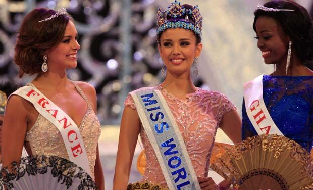 2013 Miss World Canada -Megan Young