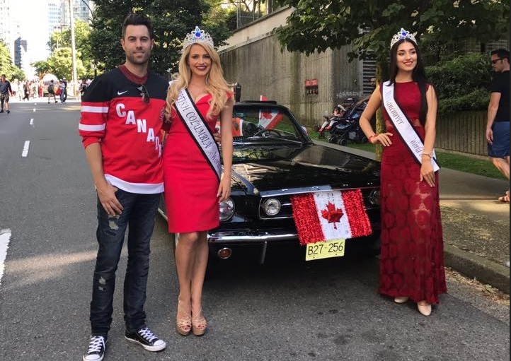 Dave Hartney, Natalie Allin and Lia Fallah July 1st long weekend Canada Day