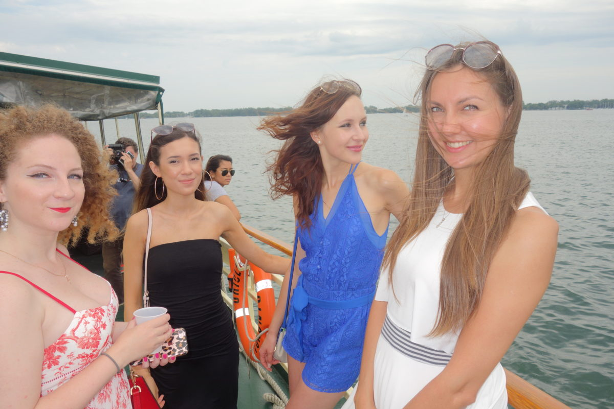 Beyond Fashion magazine on Miss World Canada boat cruise