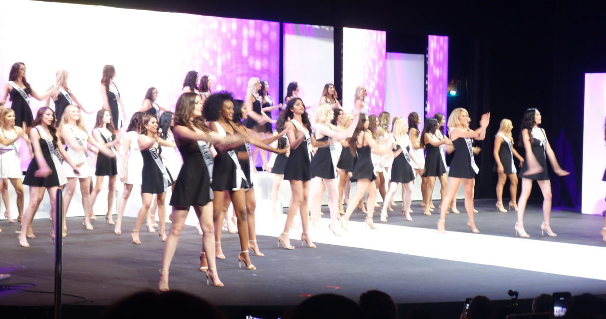 Miss World Canada opening dance number