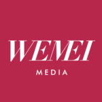 Wemei Media Logo in red UK