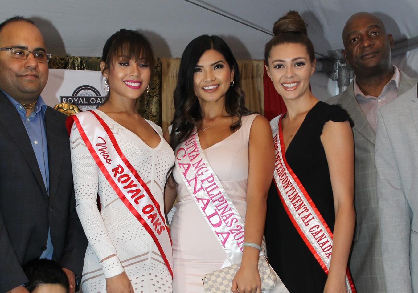 beauty queens in Canada, 2017 - model competition finalists