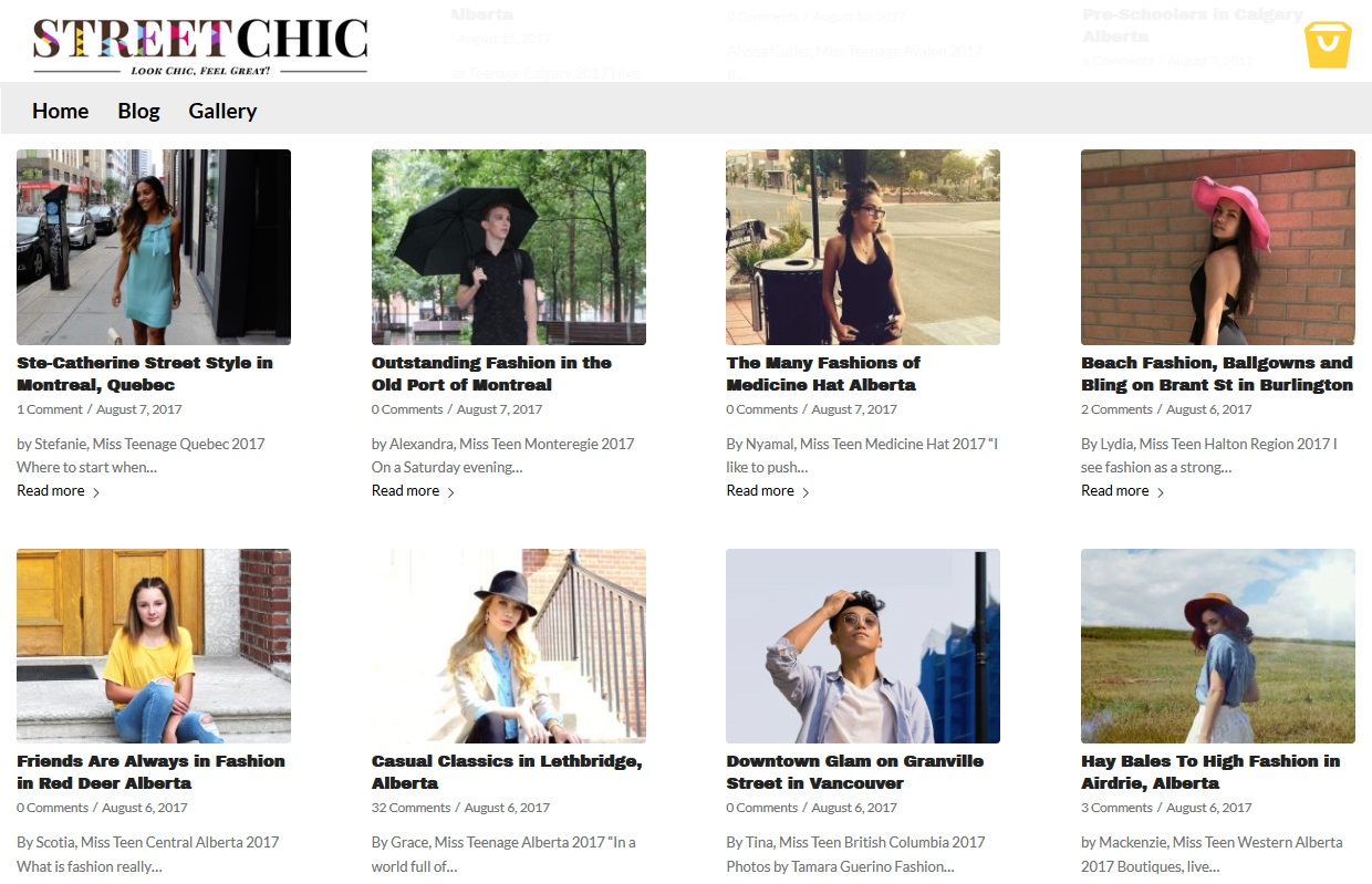Streetchic blogs in order