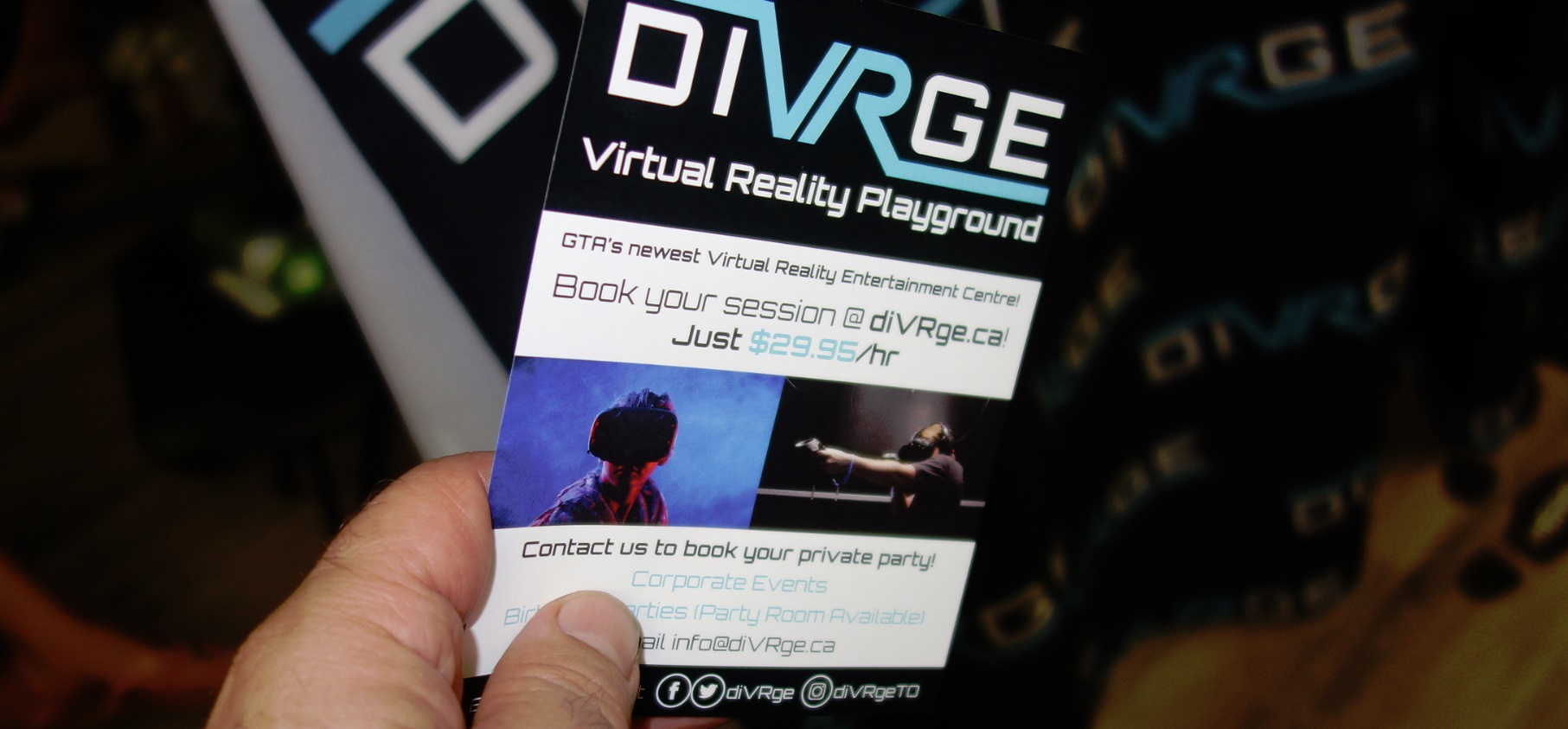 Virtual Reality gaming in Toronto for $30 hour per person