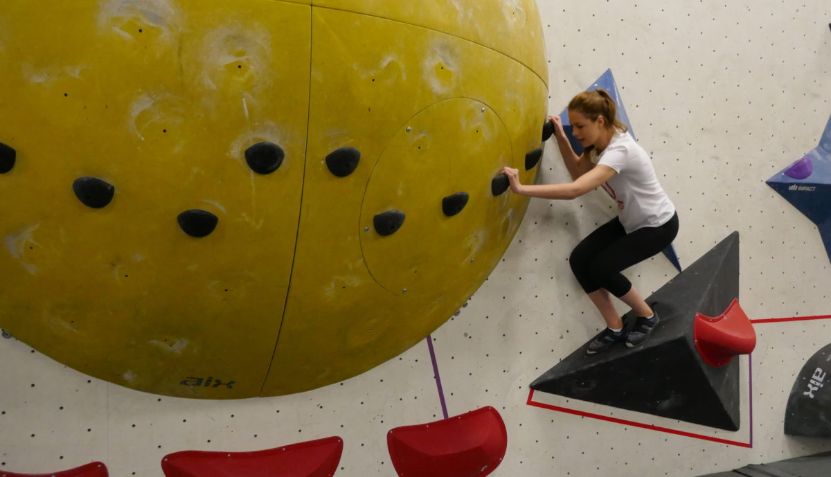 miss world canada bouldering pn Fitness Day at Hub Climbing