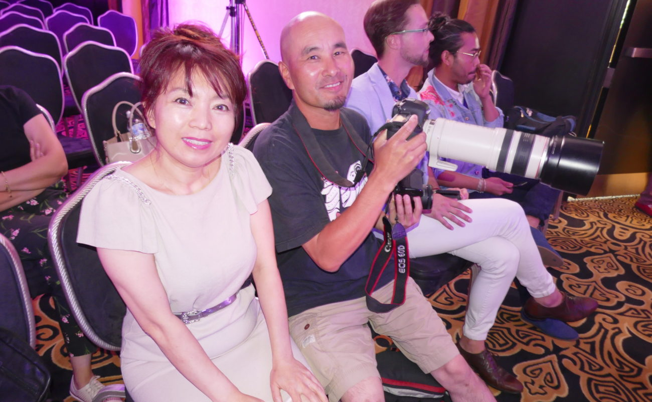 Lily liao from Streetchic fashion magazine in Canada was in the audience